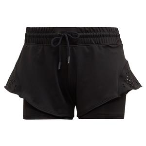 Women`s Stella McCartney 4 Inch Tennis Short Black