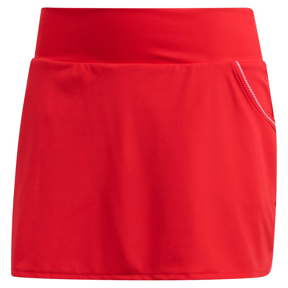 Women's Club 13 Inch Tennis Skort Scarlet
