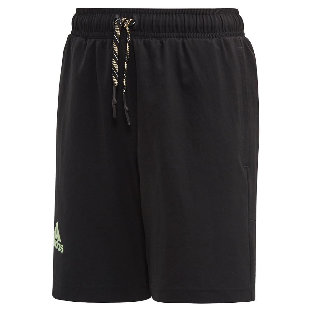Boys ` Ny 7 Inch Tennis Short Black