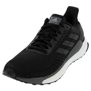 Women`s Solar Boost 19 Running Shoes Core Black and Carbon