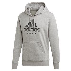 Men`s Category Tennis Hoodie Medium Grey Heather
