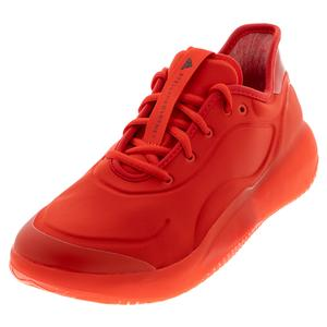 Women`s Stella McCartney Court Boost Tennis Shoes Active Red