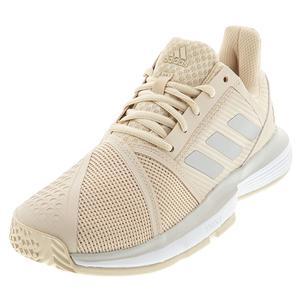 Women`s CourtJam Bounce Tennis Shoes Linen and Gray One