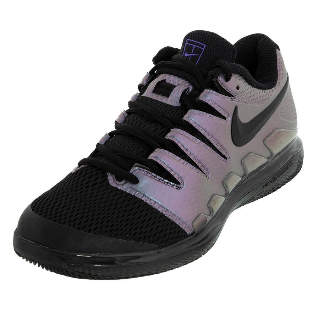 Juniors ` Vapor X Tennis Shoes Multi Color And Black