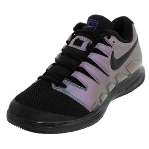 Juniors` Vapor X Tennis Shoes Multi Color and Black
