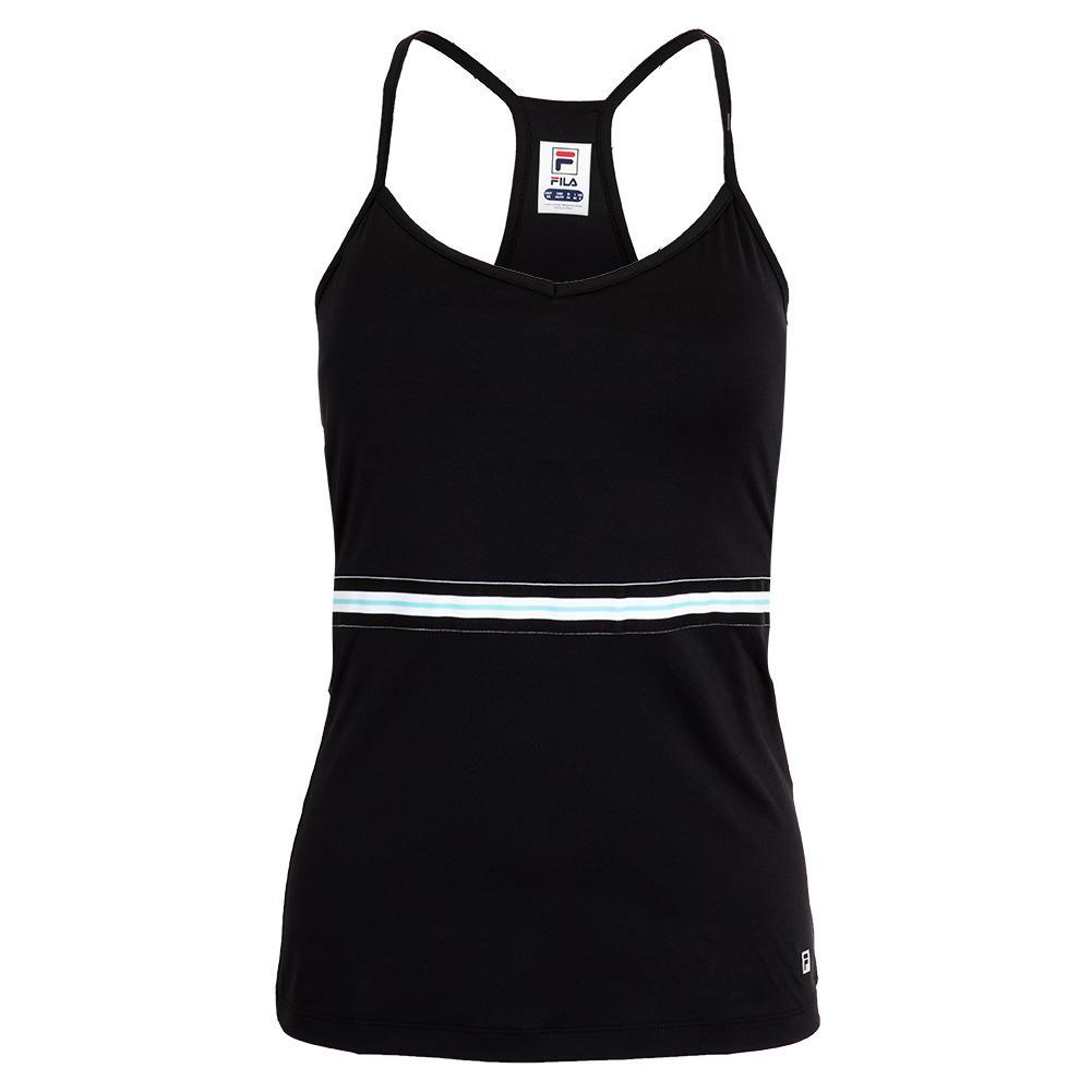761235911b99 Women`s Love Game Tennis Cami 001_BLACK
