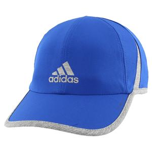 Men`s Superlite Tennis Cap Collegiate Royal and Heather Grey