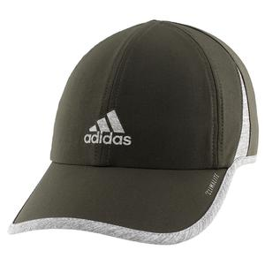 Women`s Superlite Tennis Cap Legend Earth Green and Heather Grey
