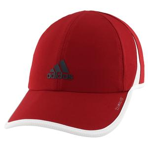Women`s Superlite Tennis Cap Active Maroon and Legend Ink Blue
