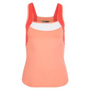 Women`s Flow Tennis Tank Desert Flower and Coral Reef