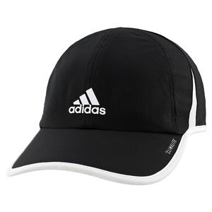 Women`s Superlite Tennis Cap Black and White