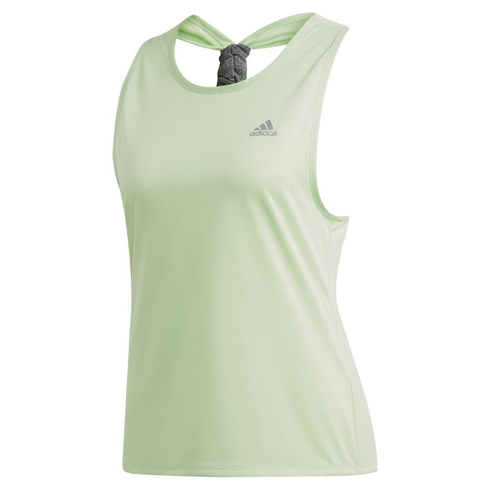 Women's Club Tie Tennis Tank Glow Green