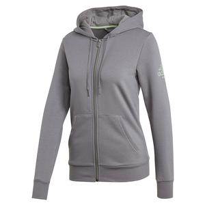 Women`s Club Tennis Hoodie Grey Three