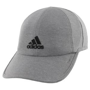 Men`s Superlite Pro II Tennis Cap Grey and Black
