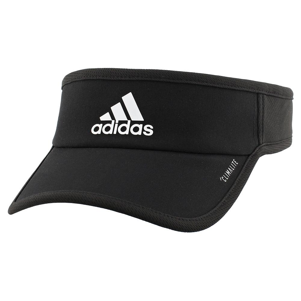 Men's Superlite Tennis Visor Black And White