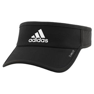Men`s Superlite Tennis Visor Black and White