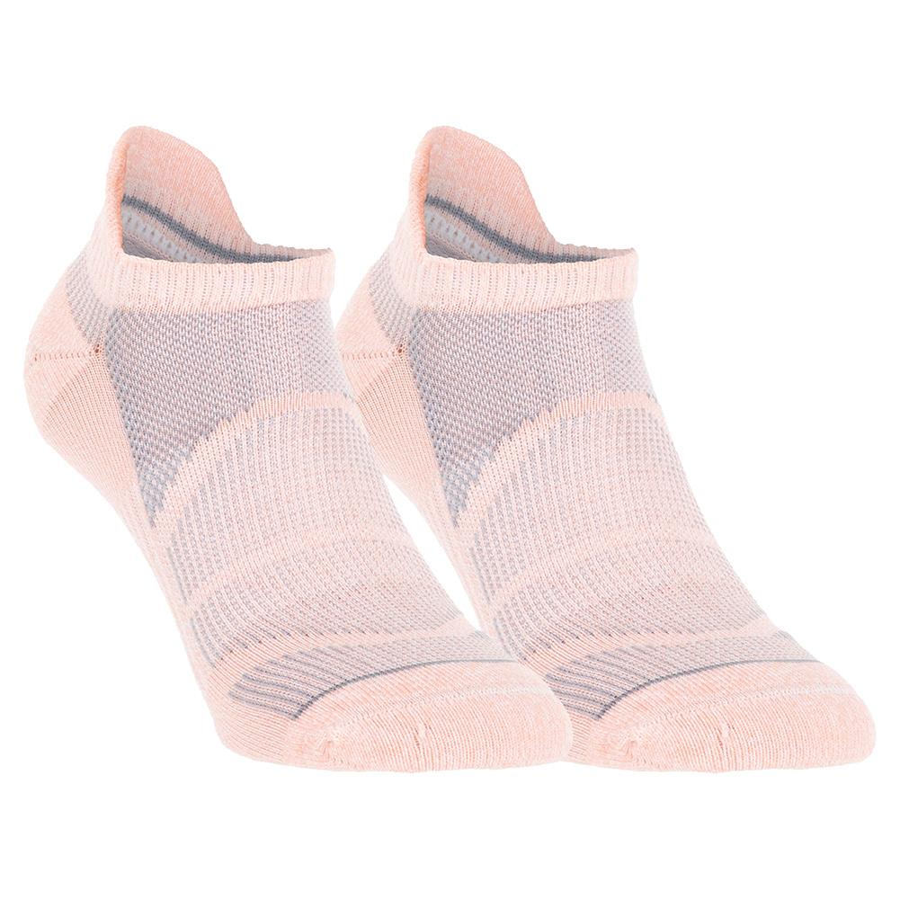 Women's Superlite Prime Mesh Iii No Show Tab Tennis Socks 2- Pack Glow Pink