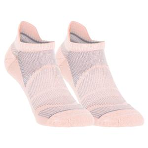 Women`s Superlite Prime Mesh III No Show Tab Tennis Socks 2-Pack Glow Pink