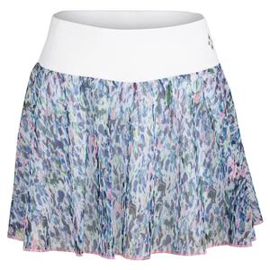 Women`s Mesh Swing Tennis Skort Sherry Print