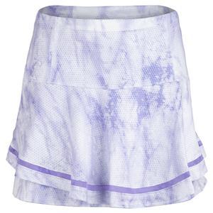 Women`s Long Flip Tennis Skirt Lucid