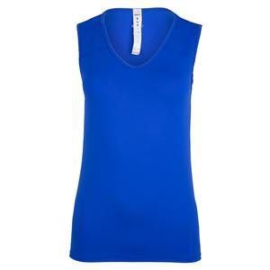 Women`s Sage Tennis Tank Princeton Blue