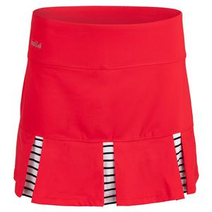 4edb0c1e3a NEW Women`s City Chic 14 Inch Tennis Skort Red Bolle ...