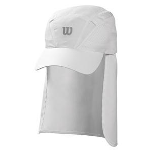 Neck Cover-Up Tennis Cap White