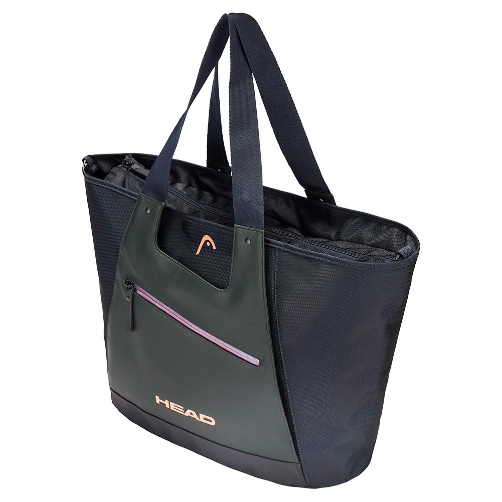Sharapova Tote Tennis Bag Navy And Gray