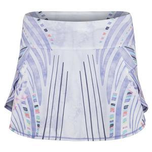 Women`s Running Skirt Lilac It Print