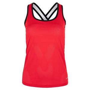 35594b6b41 NEW Women`s City Chic Racerback Tennis Tank Red