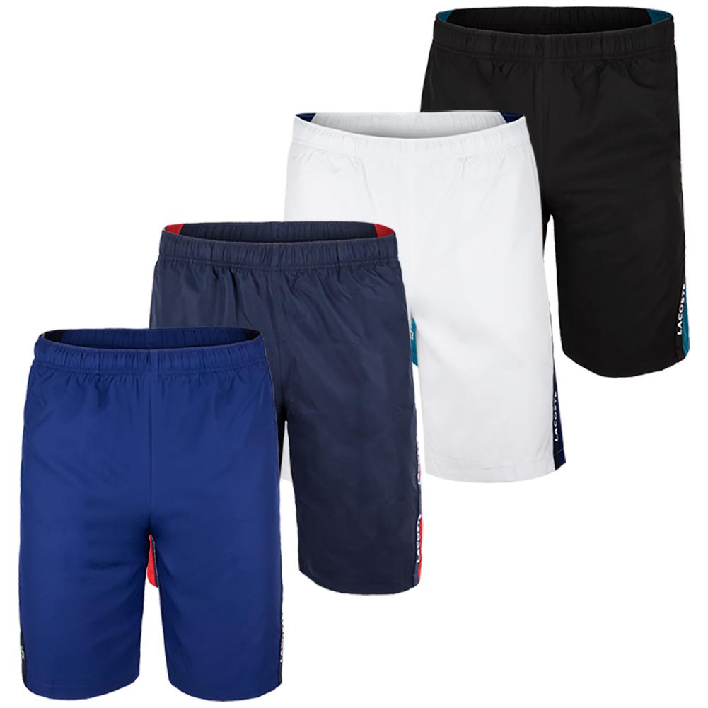 Men's Jersey Lined Lacoste Tape Training Short