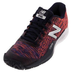 Women`s 996v3 B Width Tennis Shoes Pigment and Multi