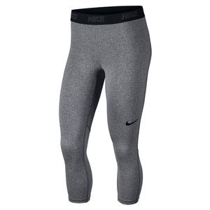 Women`s Victory Training Capri Carbon Heather and Grey