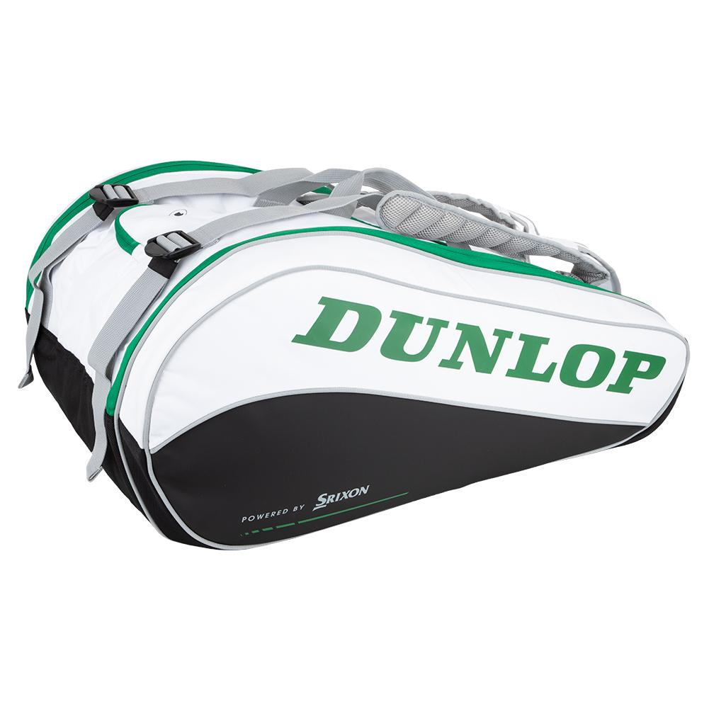 Dunlop Cx Performance 15 Pack Tennis Bag White And Green