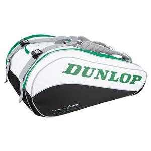 CX Performance 15 Pack Tennis Bag White and Green