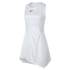 Women`s Maria Court Tennis Dress White