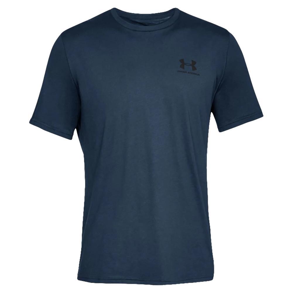 Men's Ua Sportstyle Left Chest Short Sleeve Top Academy