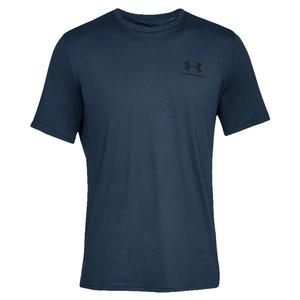 Men`s UA Sportstyle Left Chest Short Sleeve Top Academy