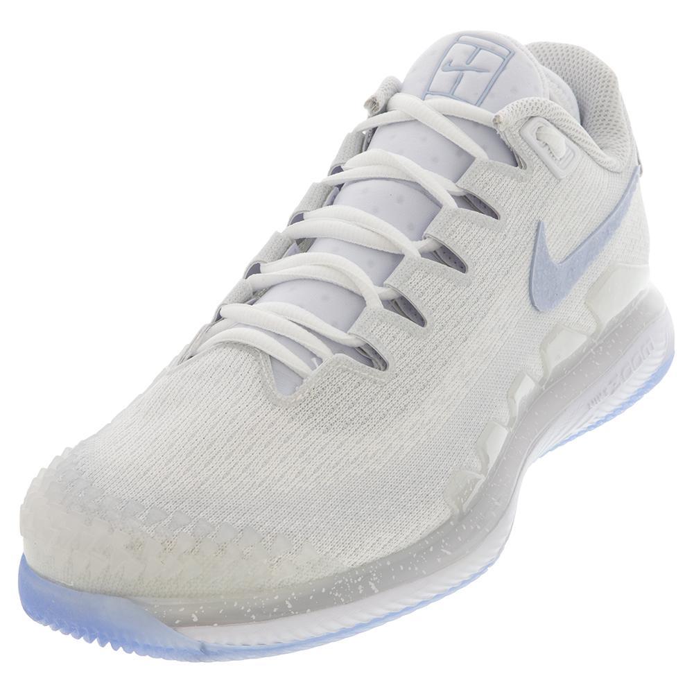 4c8cbcde Nike Men`s Air Zoom Vapor X Knit Arctic Wolf Tennis Shoes | Tennis ...