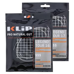 Legend Tour Natural Gut Tennis String Black