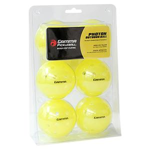 Photon Outdoor Pickleball Ball 6 Pack