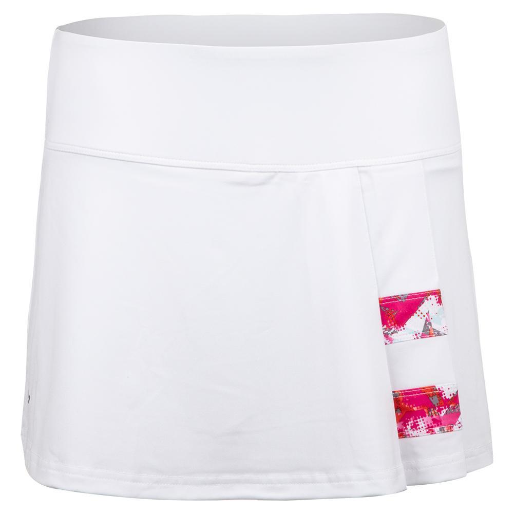 Women's Flash Point 13 Inch Tennis Skort White