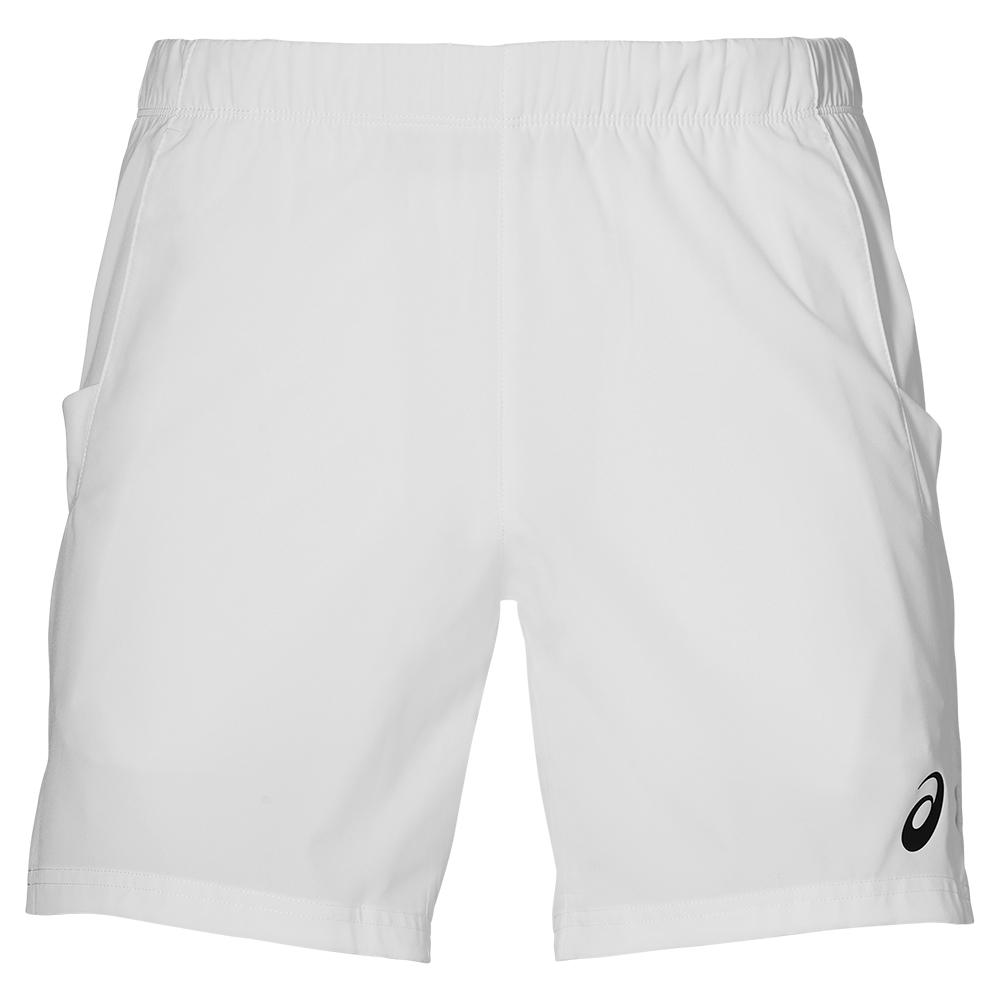 Men's Elite 7 Inch Tennis Short Brilliant White