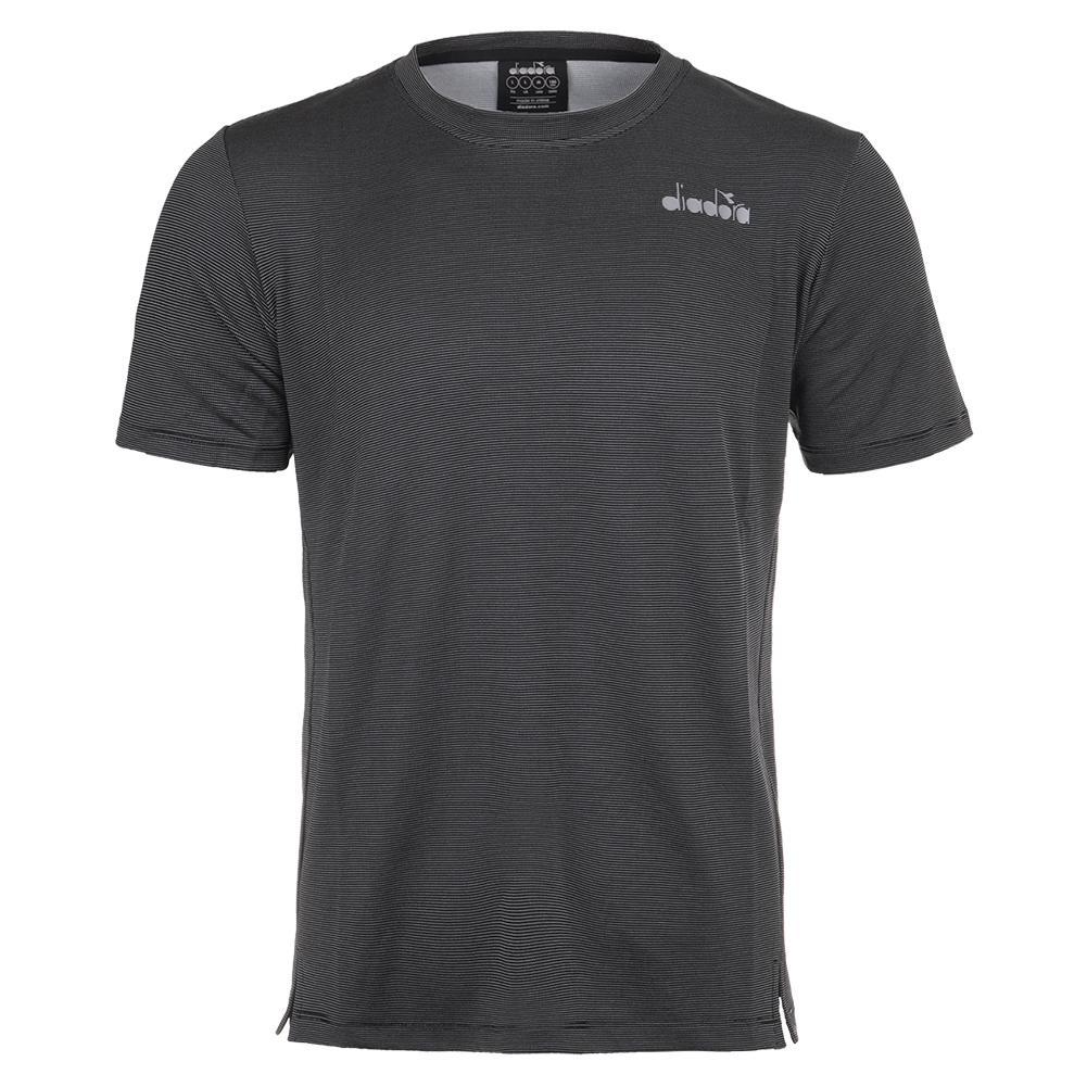 Men's Easy Tennis T- Shirt Black