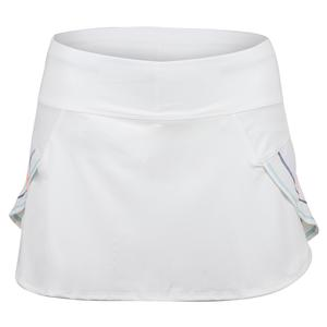 Women`s Renew Pulse Tennis Skort White