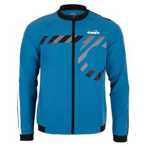 Men`s Tennis Jacket Blue Deep Water