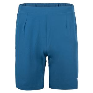 Men`s Easy Bermuda Tennis Short Blue Deep Water
