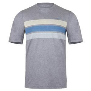 Men`s Jet Pack Tennis T-Shirt Heather Grey