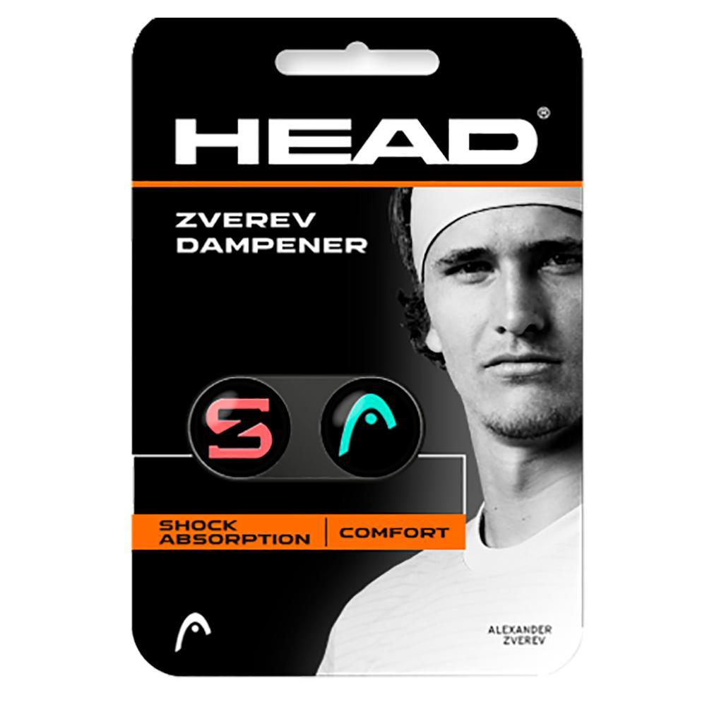 Zverev Tennis Dampener Teal And Hot Lava