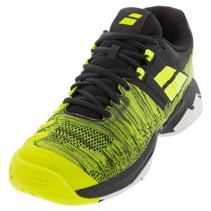 Men`s Propulse Blast Tennis Shoes Black and Fluo Aero